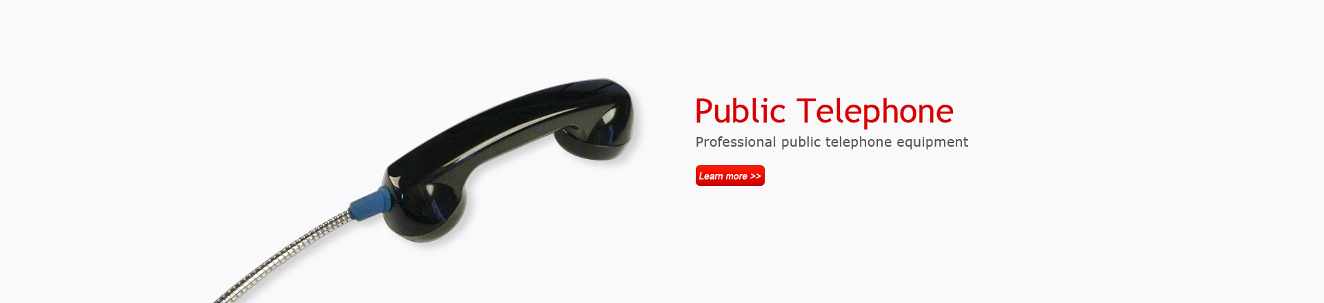 Professional public telephone equipment